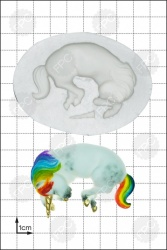 'Sleeping Unicorn' Silicone Mould
